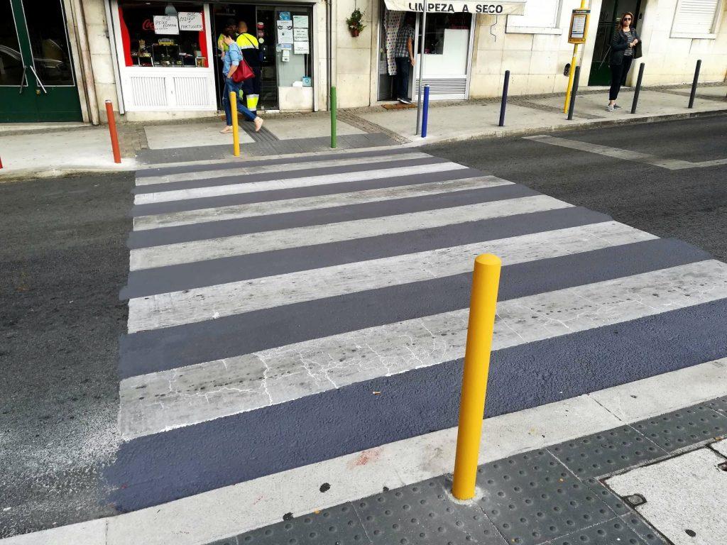 Passadeiras arco-íris de Campolide só duraram três dias