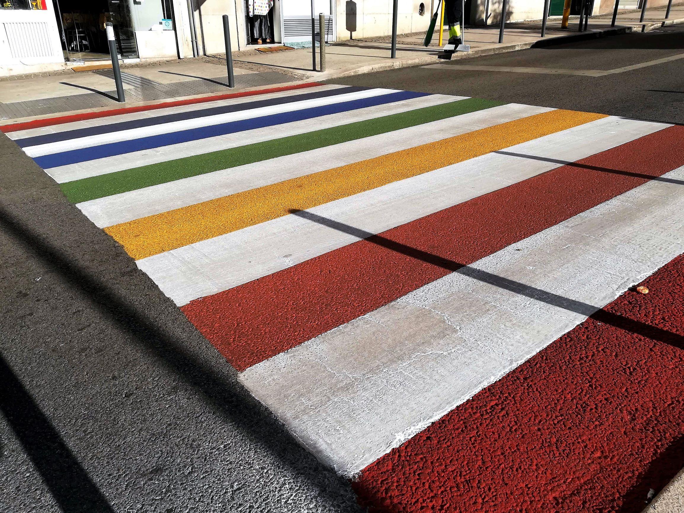 As passadeiras arco-íris de Campolide