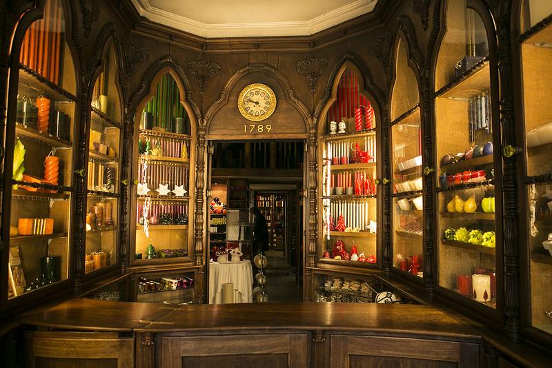 As lojas históricas do Chiado