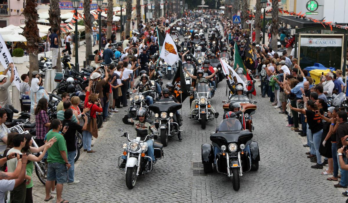 Cascais recebe milhares de Harley-Davidson durante quatro dias