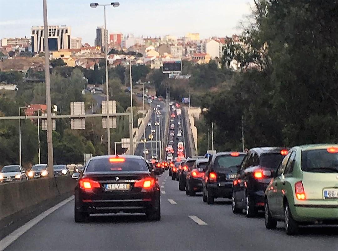 Lisboa é a cidade com mais trânsito na Península Ibérica