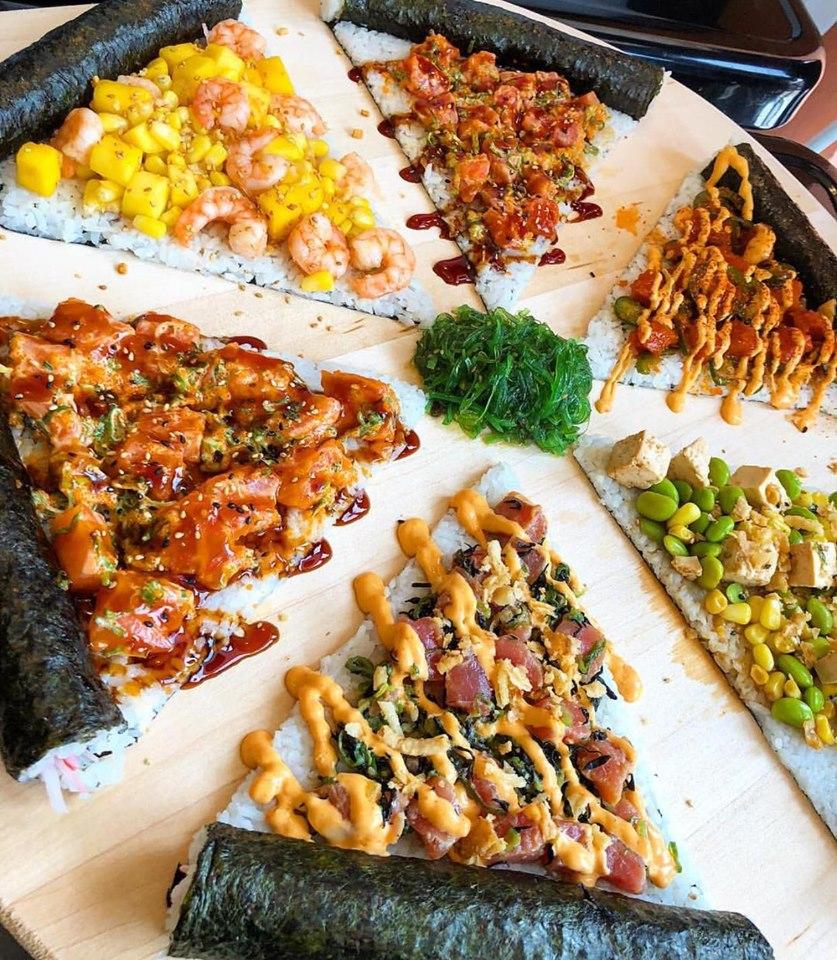 Agora já podes comer sushipizzas em casa