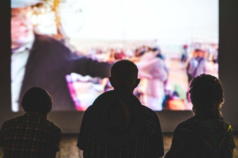Sessões de cinema ao ar livre gratuitas no Bairro Alto