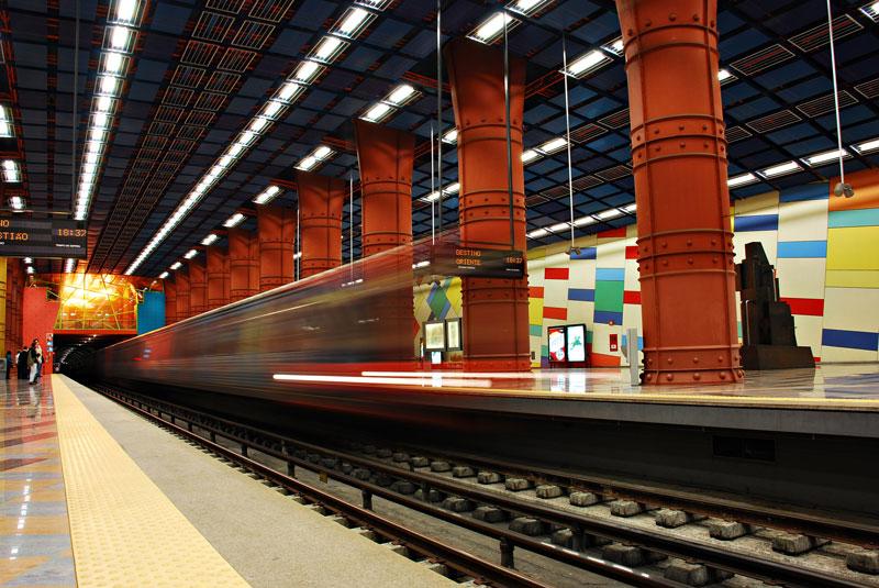 As estações de Metro mais bonitas de Lisboa