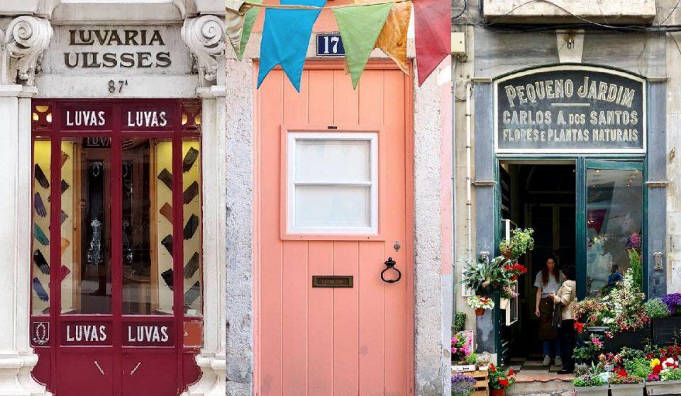 30 fotos das mais belas portas de Lisboa
