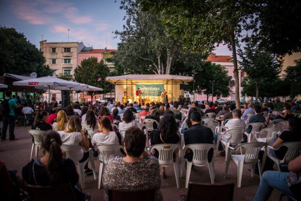 Jazz na Praça: música no feminino na Praça Paiva Couceiro