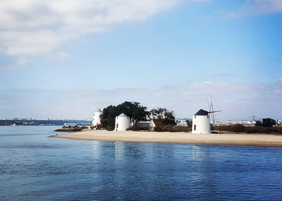 Praia da Alburrica, no Barreiro