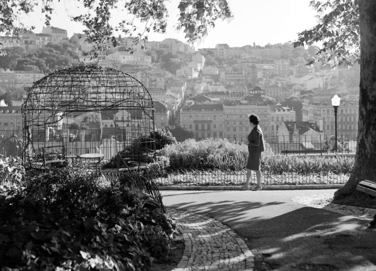 Os miradouros na Lisboa antiga
