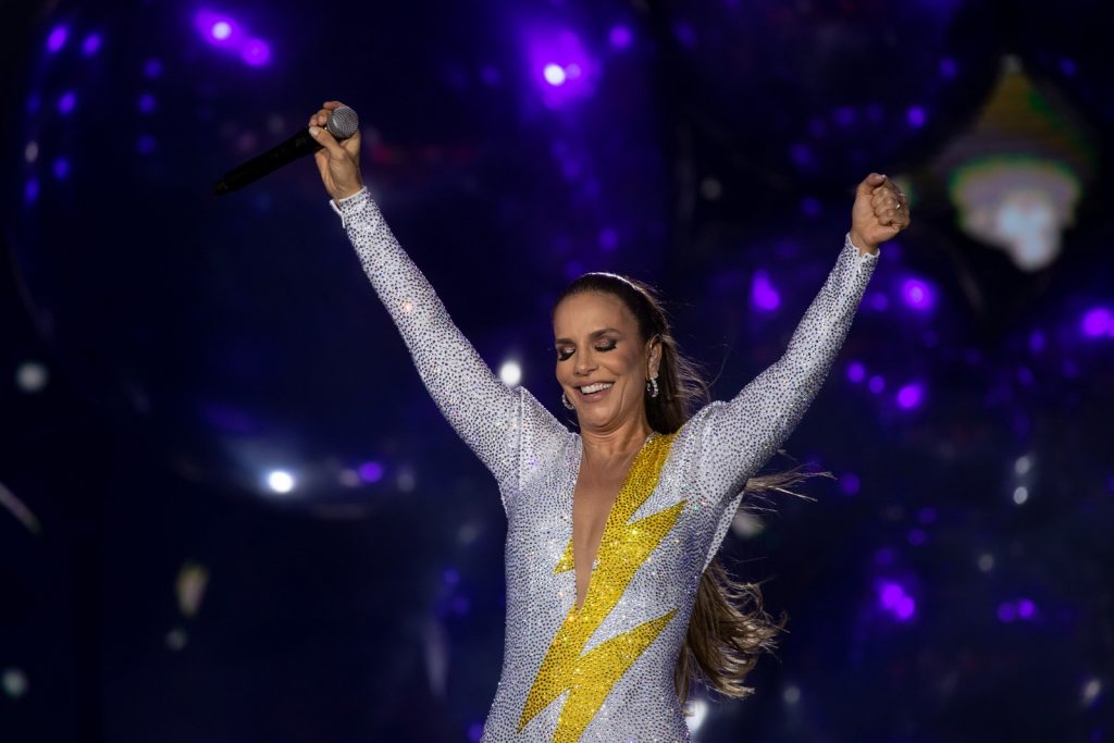 Ivete Sangalo no Rock in Rio 2019, no Brasil