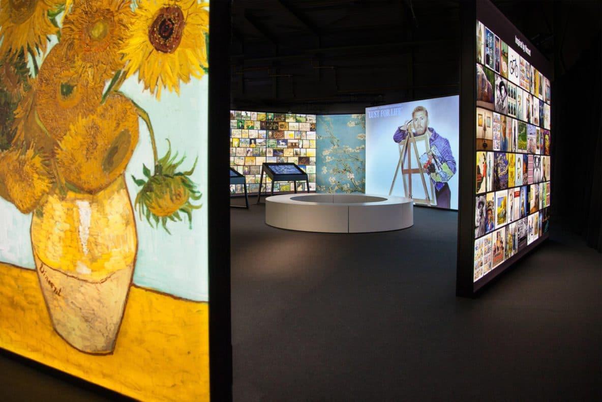 exposição interativa Meet Vincent Van Gogh