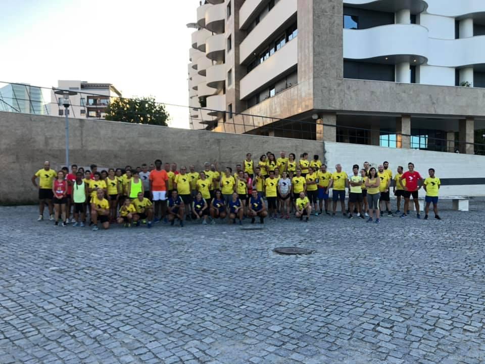 Grupo de Corrida Correr Lisboa no Parque das Nações