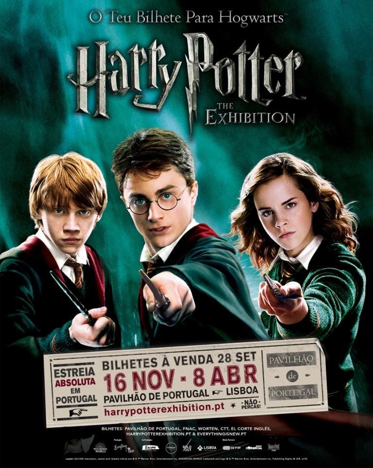Cartaz da @Harry Potter™️: The Exhibition
