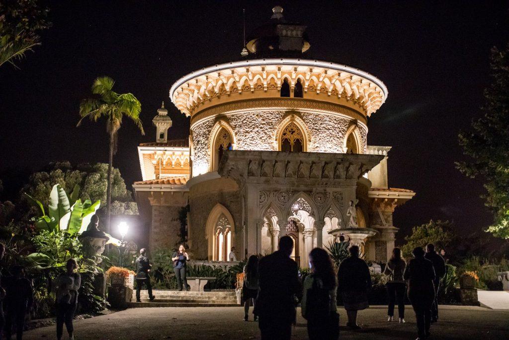 Visita noturna gratuita ao Parque e Palácio de Monserrate