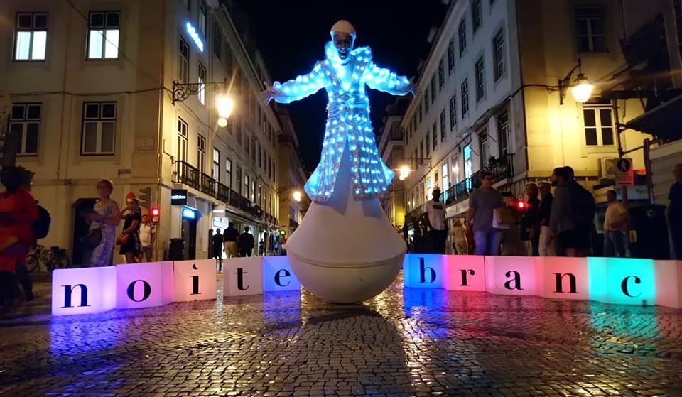 Noite Branca: Lisboa em festa com descontos e muita animação