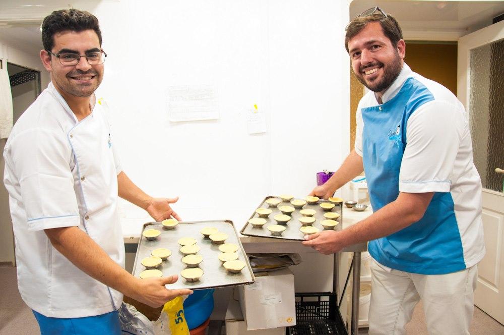 Queres aprender a fazer Pastéis de Nata?