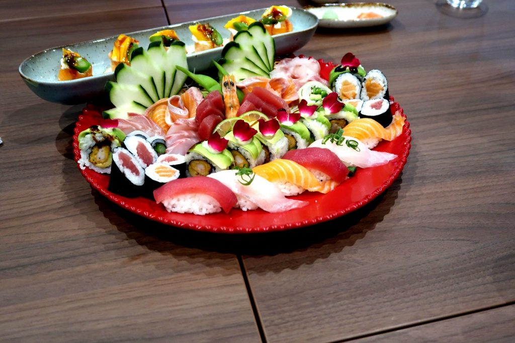 comida japonesa no UMI