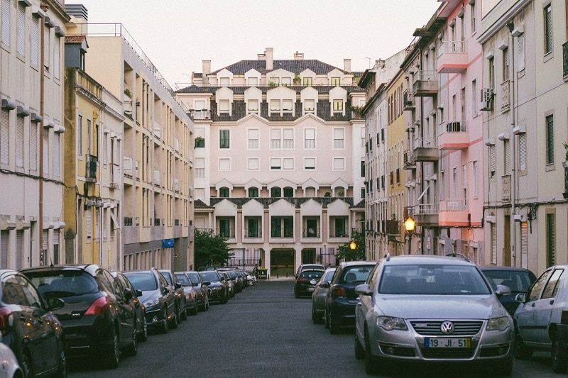 estacionar grátis em Lisboa, alcântara