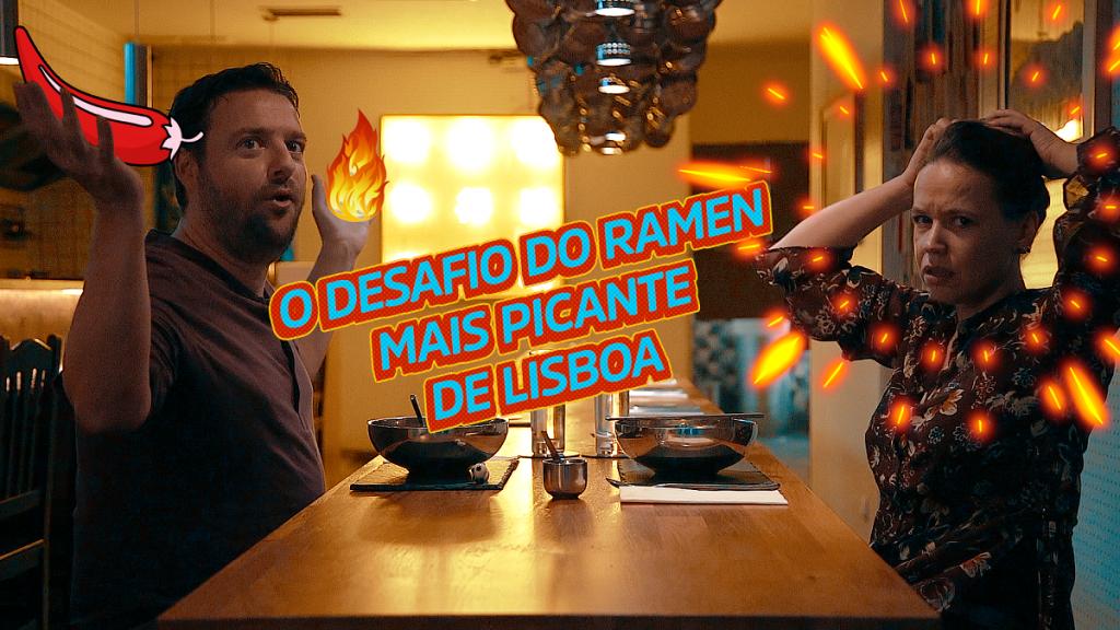 O Desafio do Ramen Mais Picante de Lisboa (com vídeo)