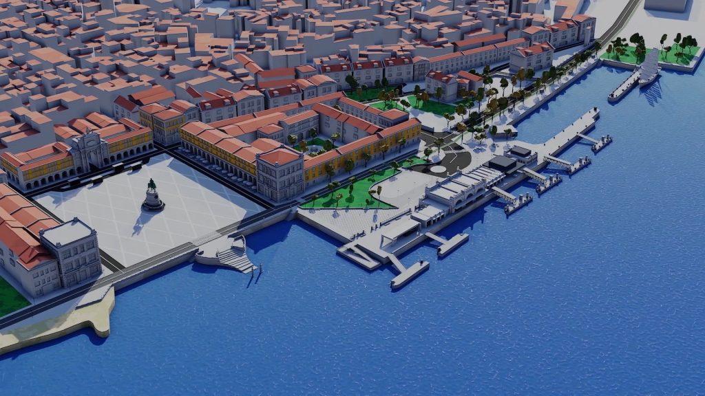 Lisboa vai ter um novo Cais para aproveitarmos o Tejo