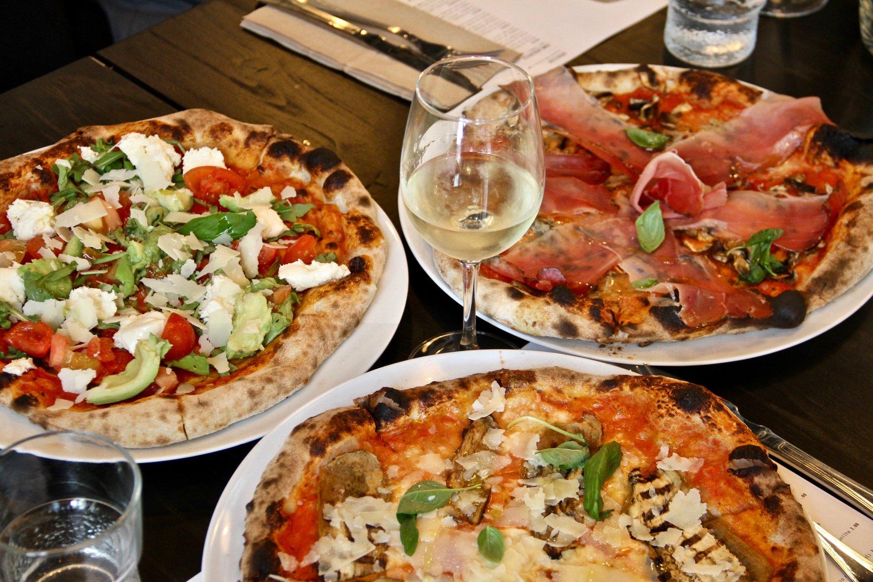 3 pizzarias com menu de almoço em Lisboa
