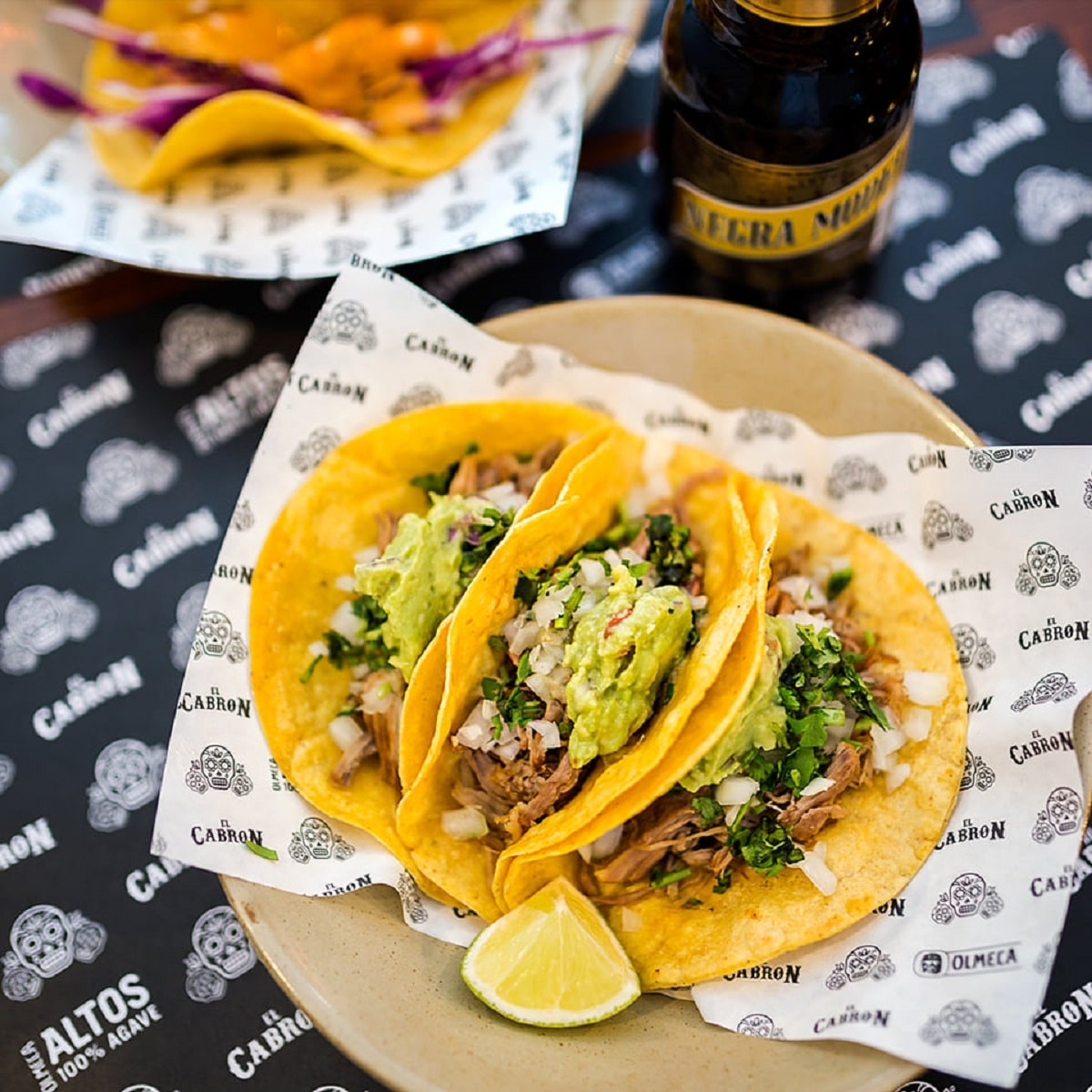 tacos grátis no El Cabron