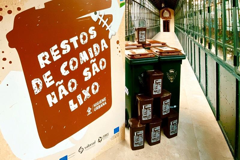 Lisboa tem novo contentor castanho