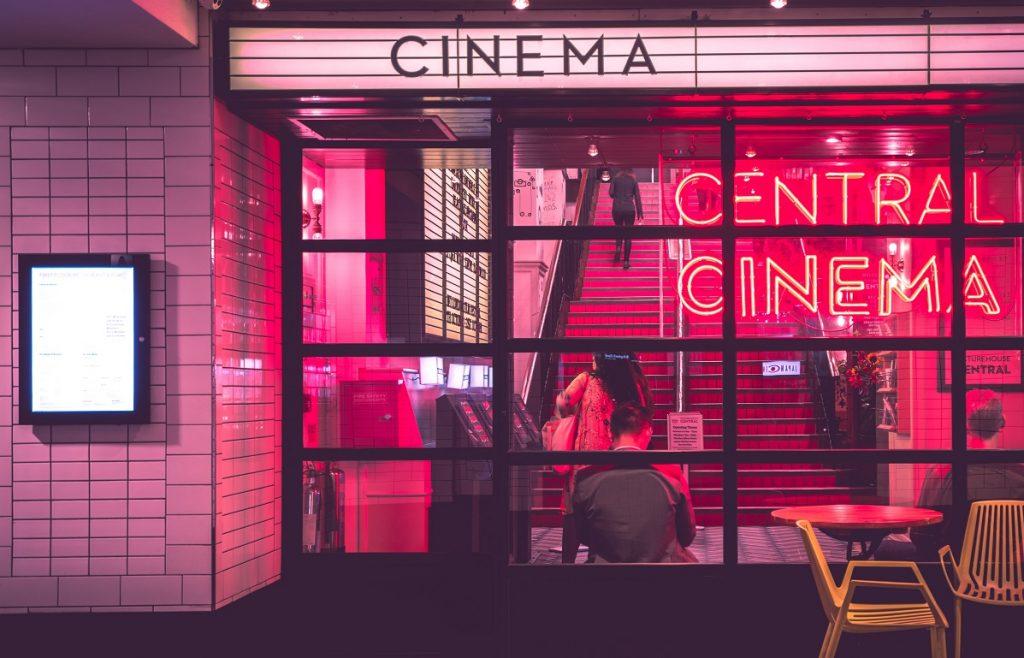 entrada de cinema