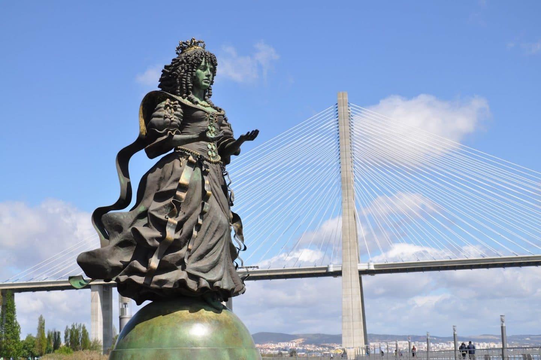 Rainha D. Catarina de Bragança, por Audrey Flack