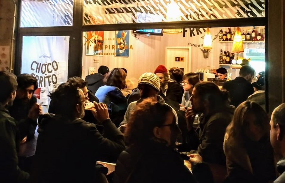Restaurante Choco Frrito abre Galeria mais pequena do mundo