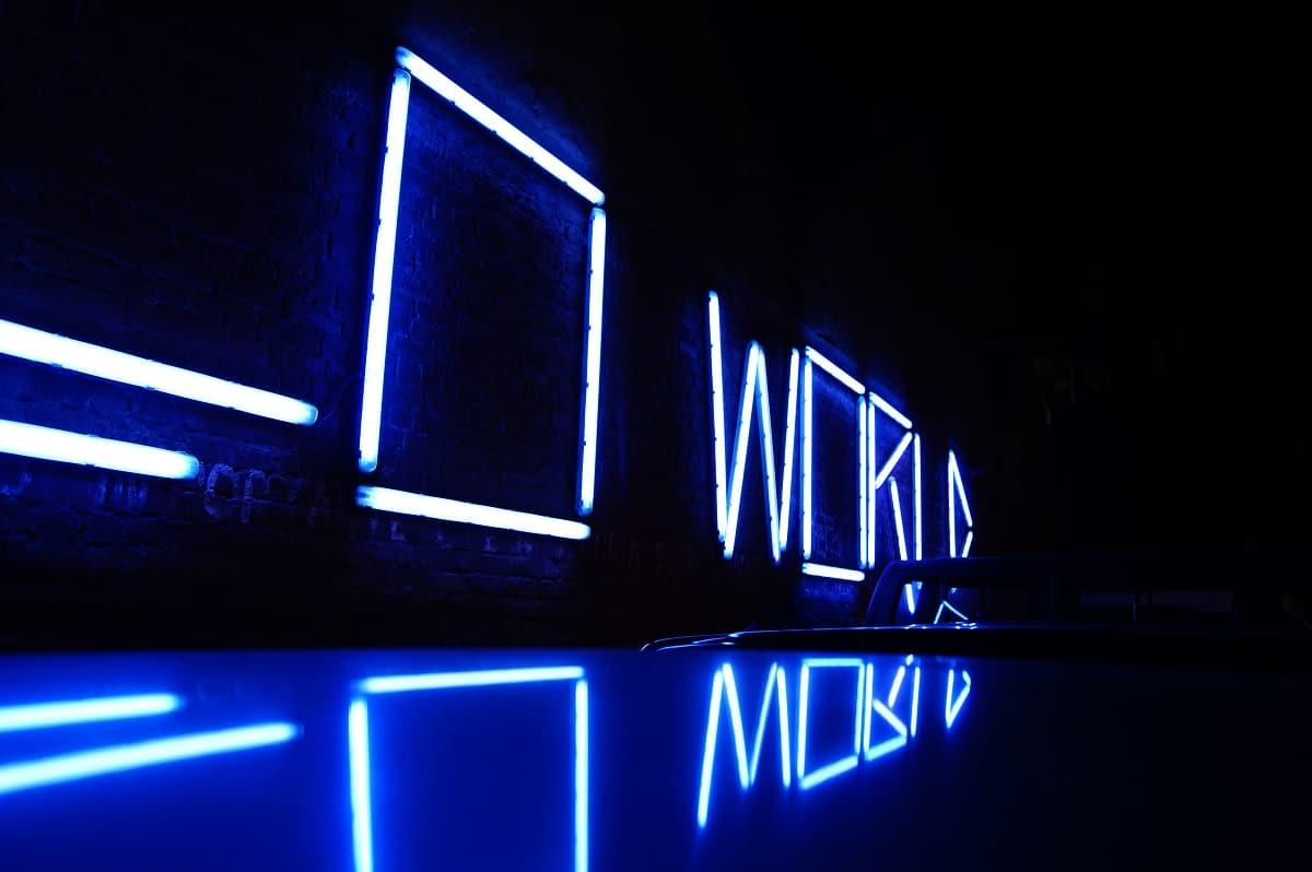 néon hello world na lx factory