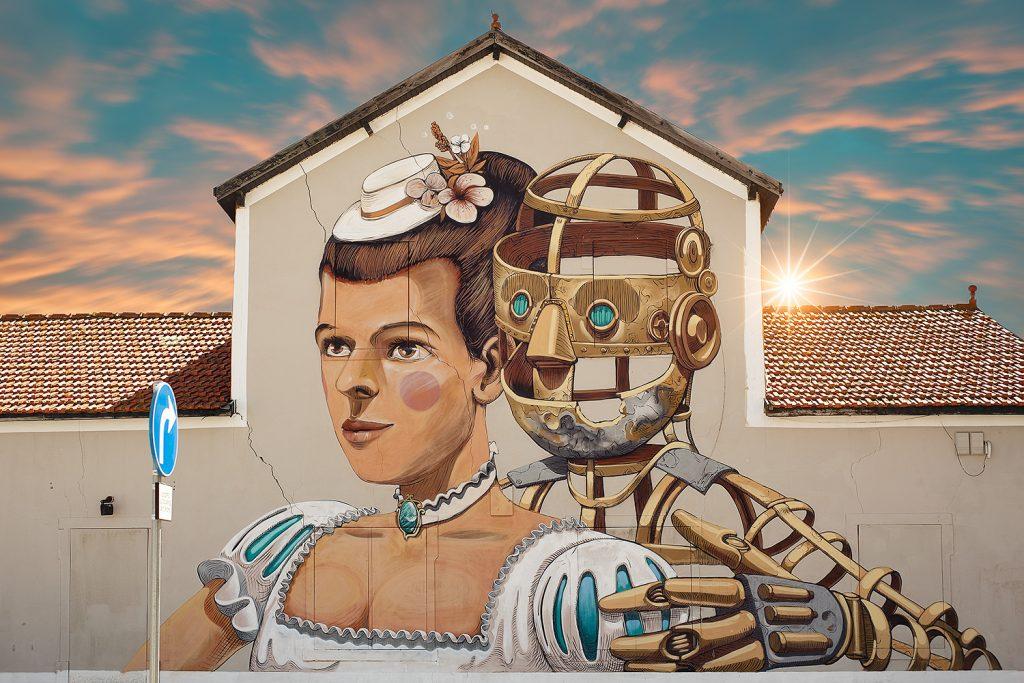 A Caminhar por Lisboa: 10 murais de arte urbana para descobrir na cidade