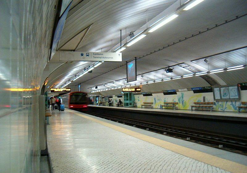 Há mais amor no metro de Lisboa