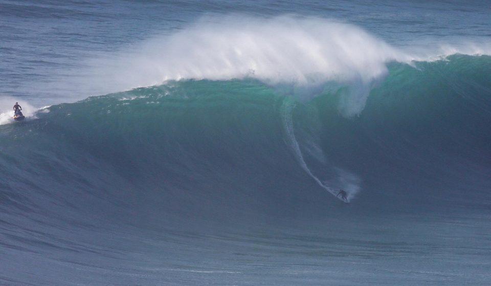 Já começou o Nazaré Tow Surfing Challenge