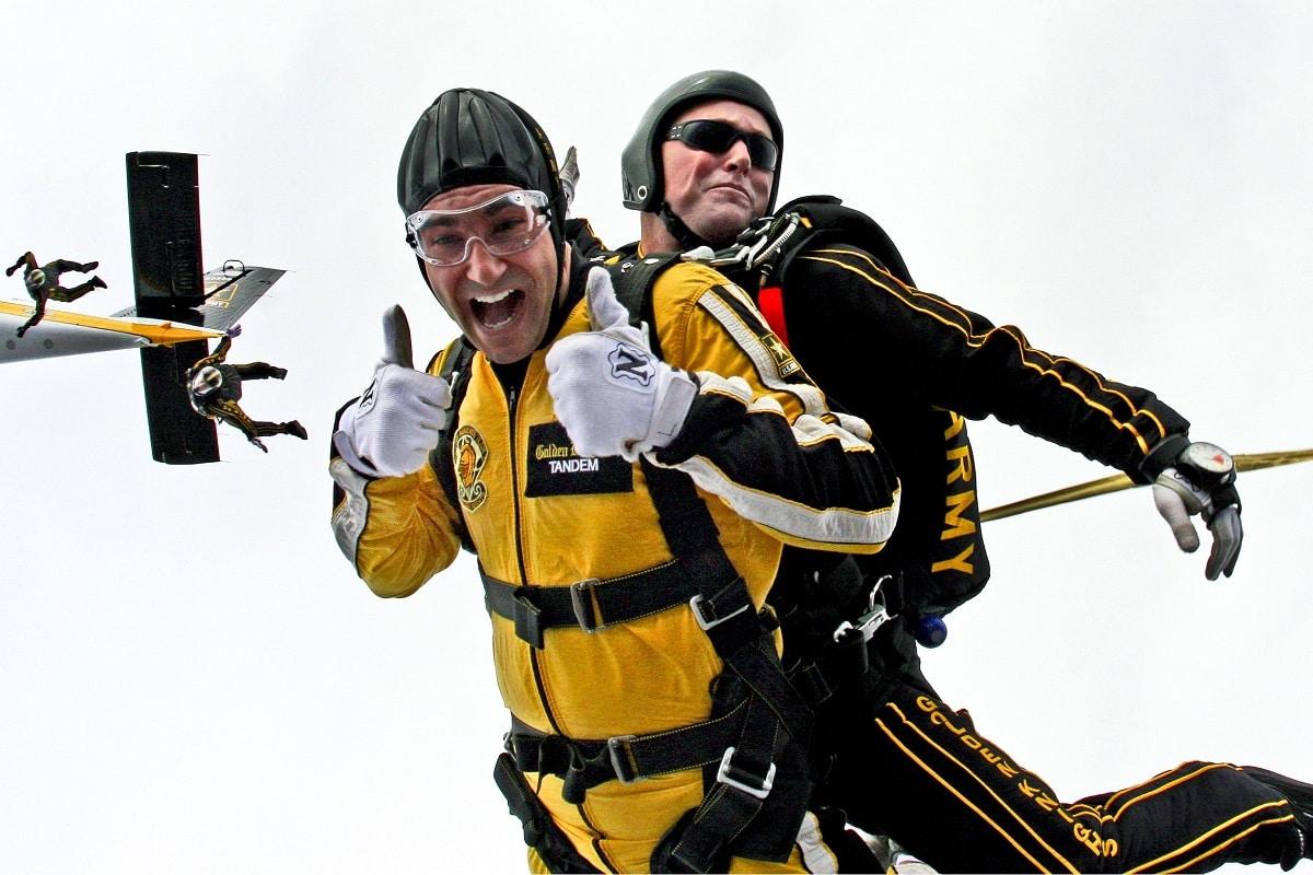 salto paraquedas tandem