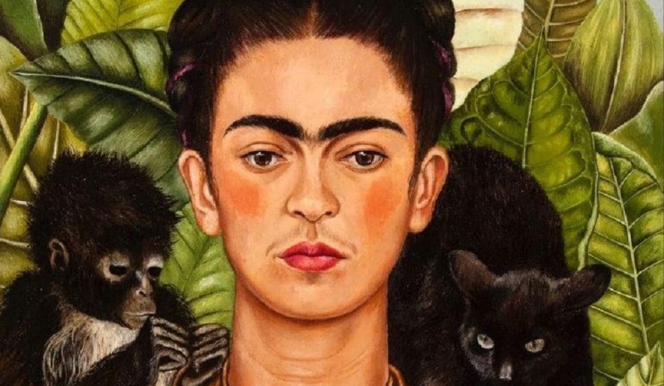 Esta é obra de Frida Kahlo online, que reúne mais de 800 peças