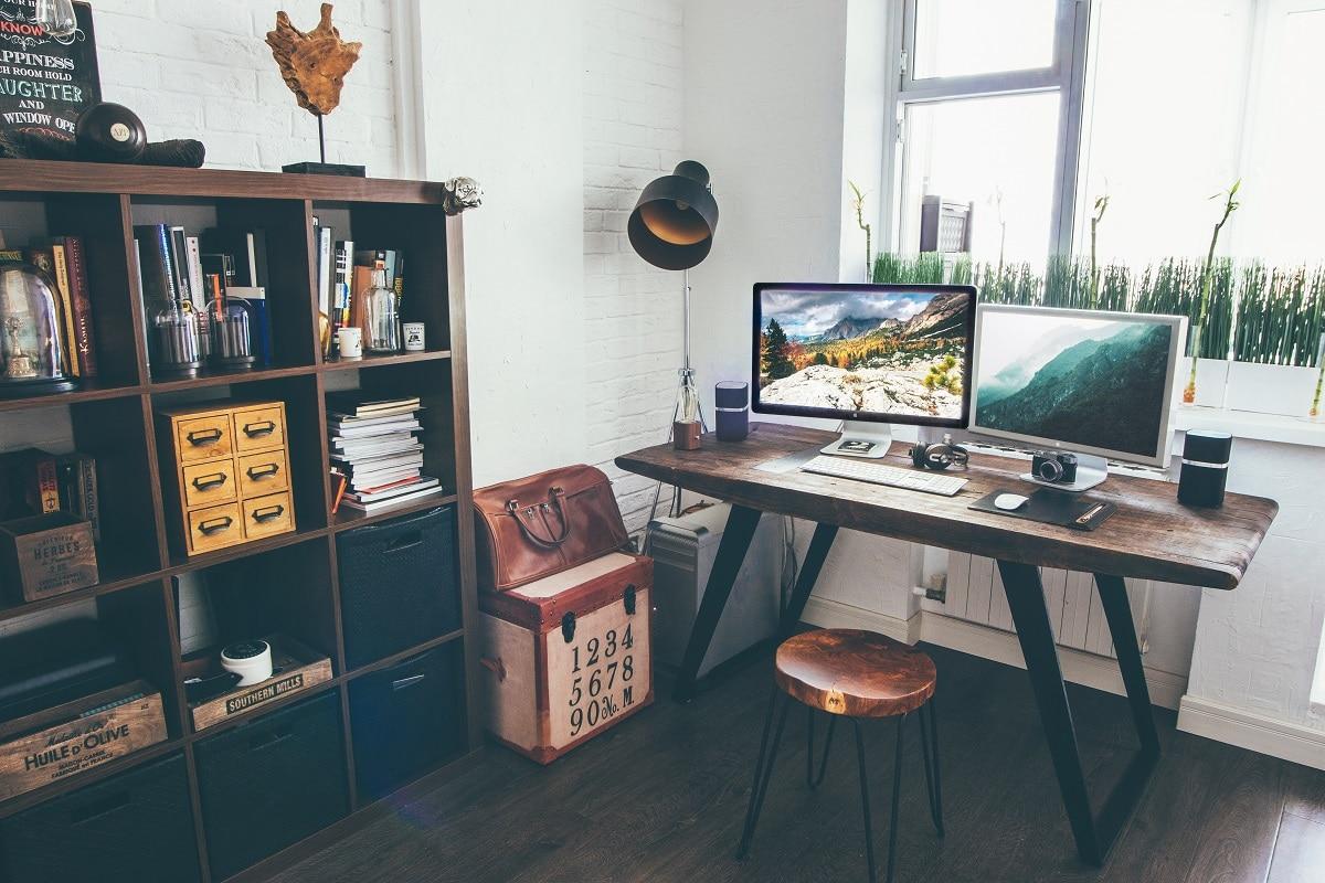 escritório para trabalhar em casa