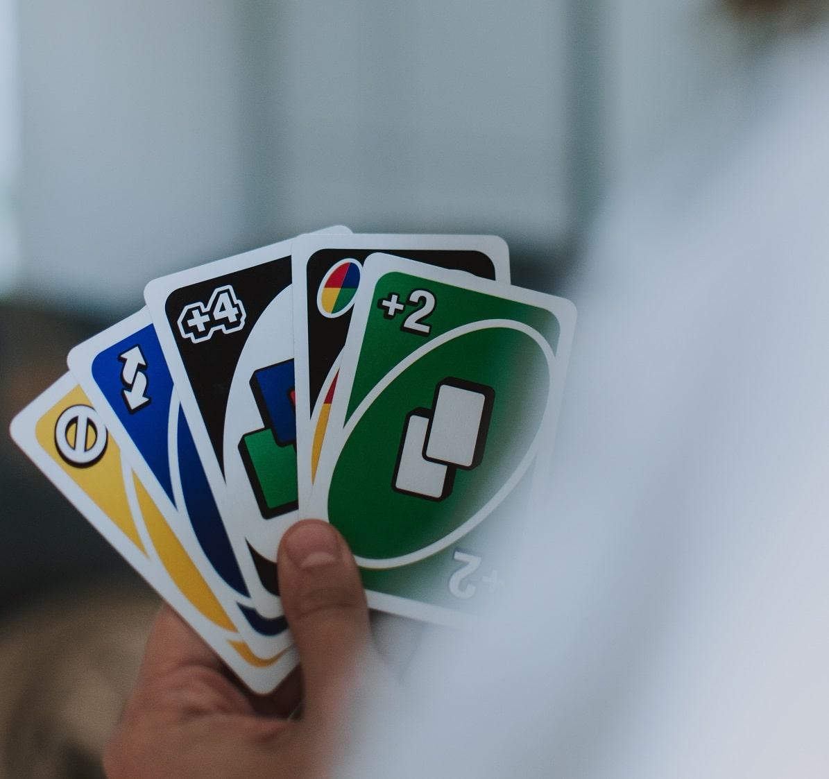 jogo de tabuleiro UNO