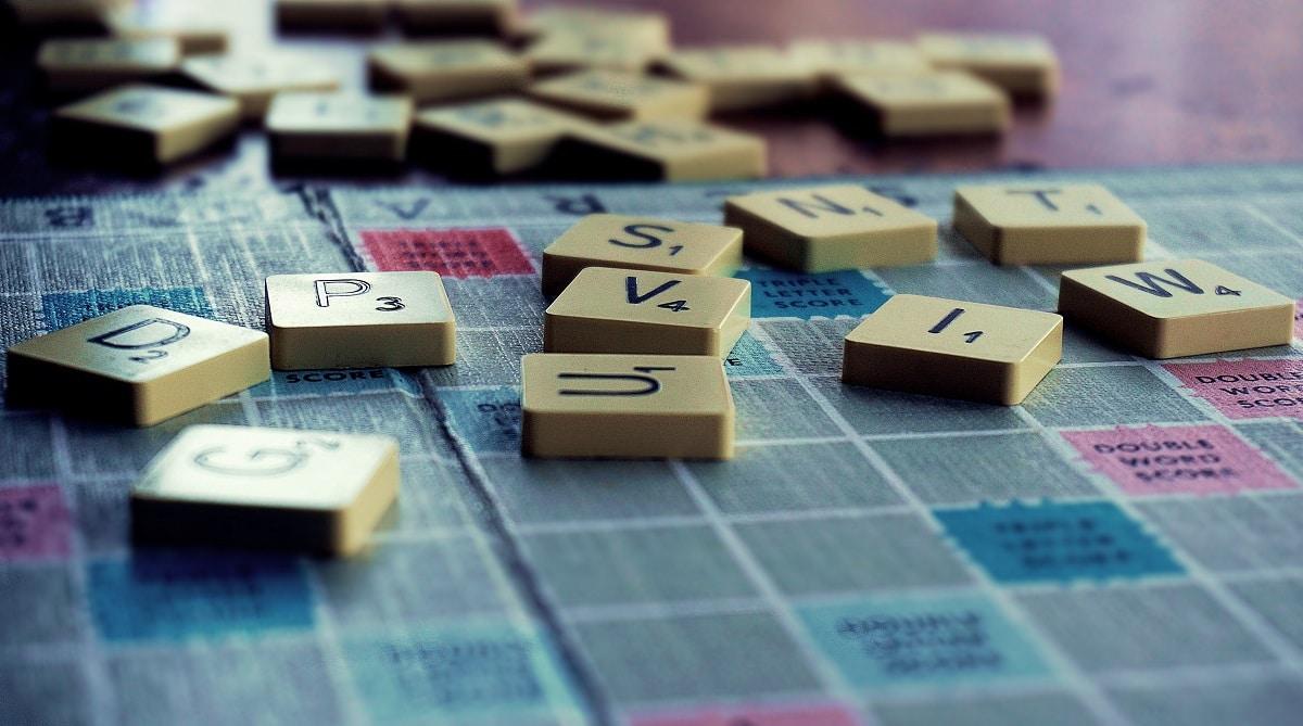 jogo de tabuleiro scrabble