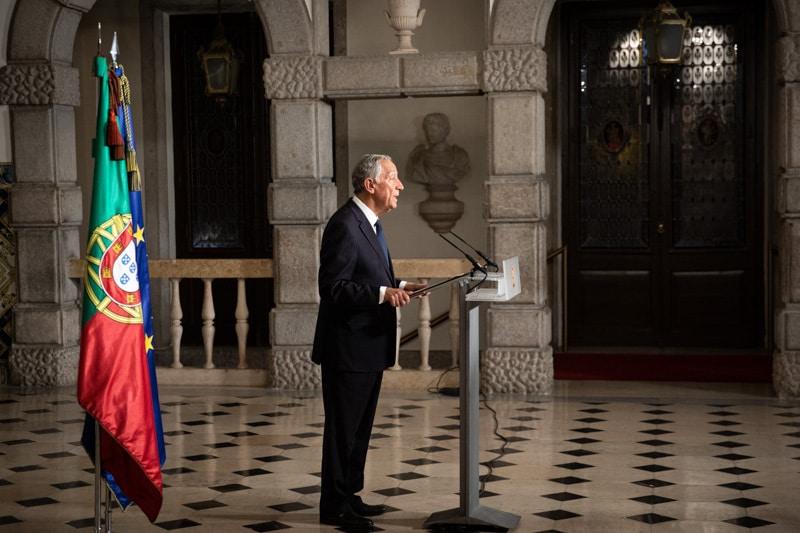 Mensagem do Presidente da República ao País sobre a declaração do estado de emergência