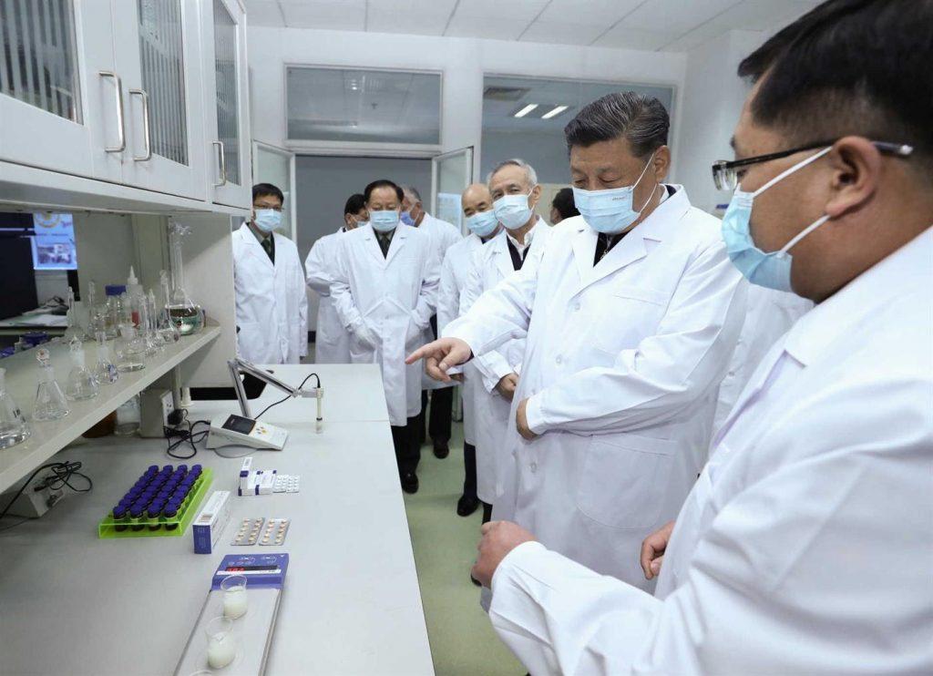 vacina coronavírus em laboratório