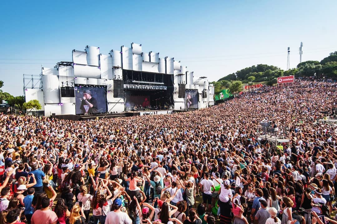 público no Rock in Rio Lisboa