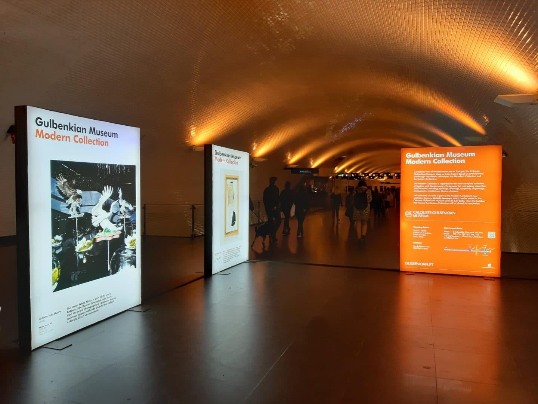 Metropolitano de Lisboa acolhe exposição do Museu Calouste Gulbenkian