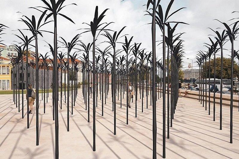 Memorial de homenagem às vítimas da escravatura 1