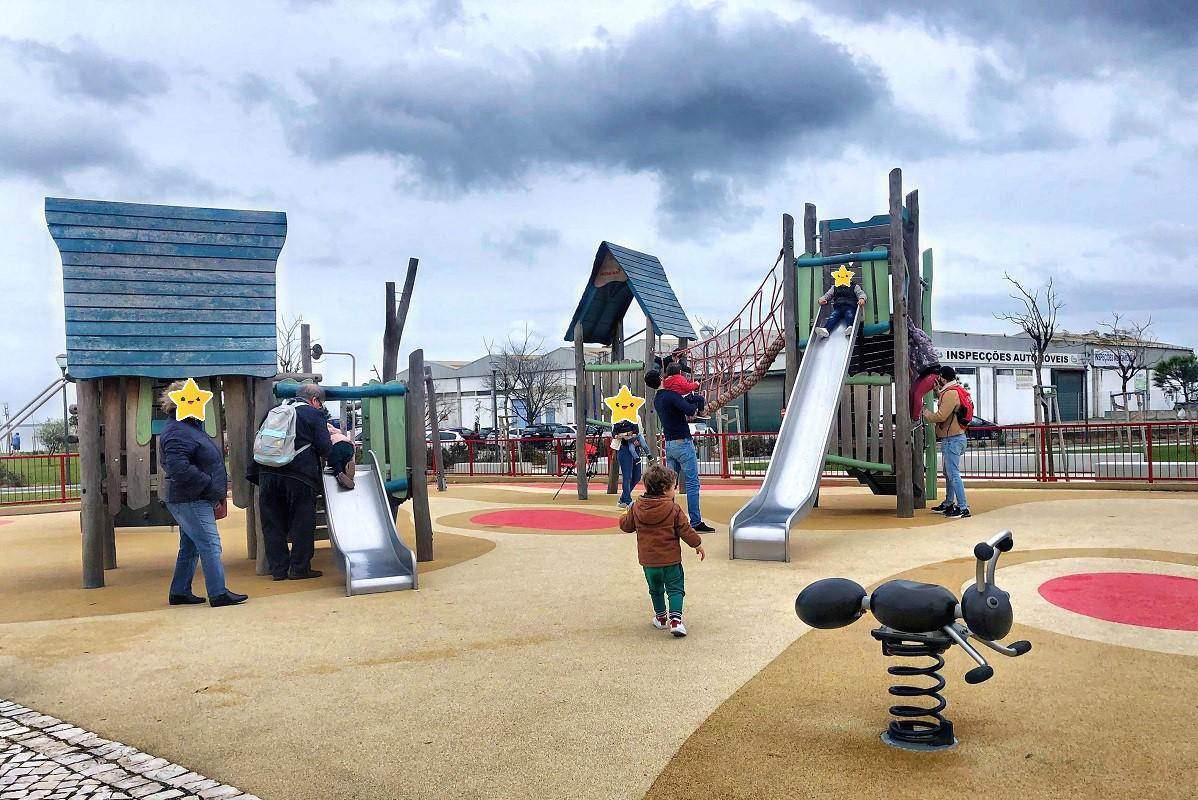 Há um novo parque infantil em Lisboa