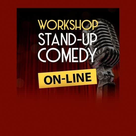 cartaz Workshop online de Stand-up Comedy