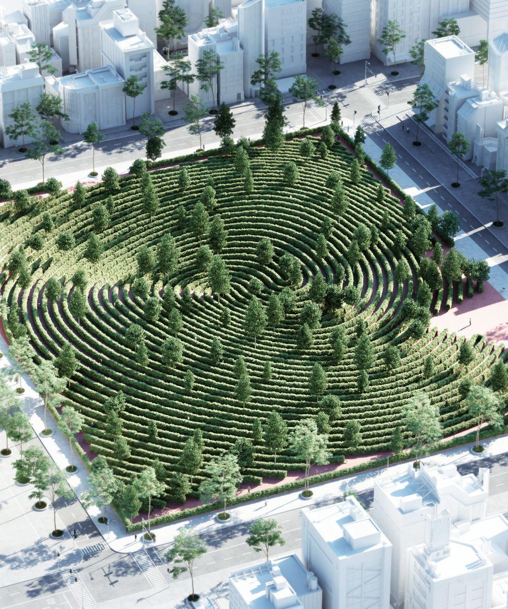 """projeto do """"parque da distância"""""""