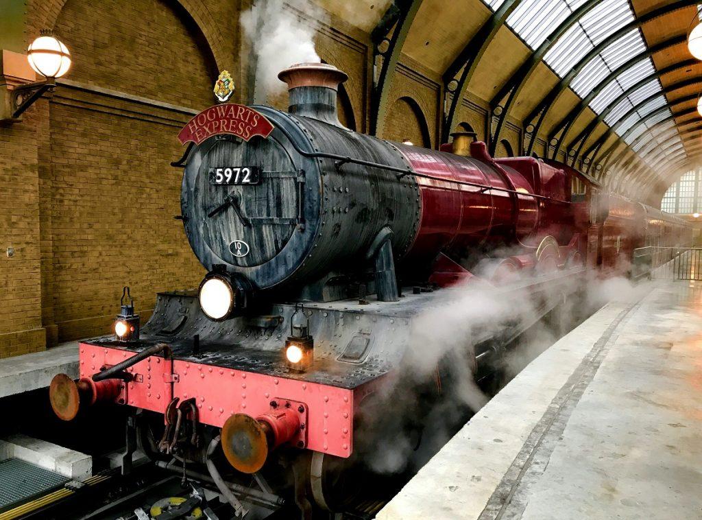 comboio do harry potter para hogwarts