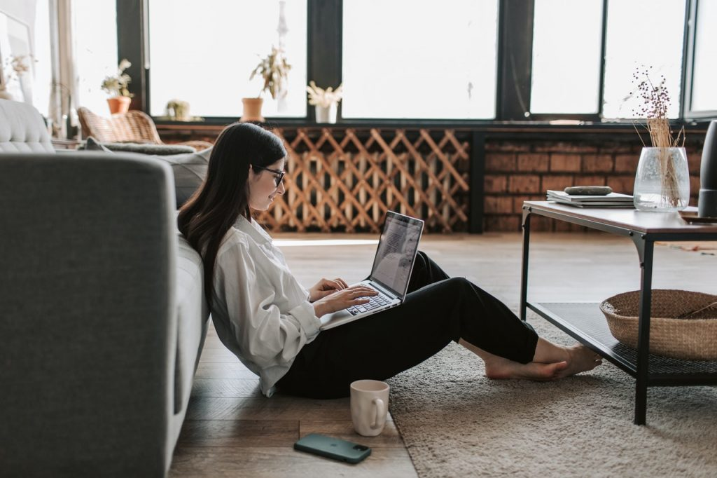 woman-working-at-home-with-her-laptop