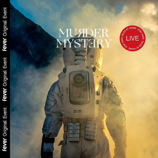 cartaz Murder Mystery Online Race to Mars