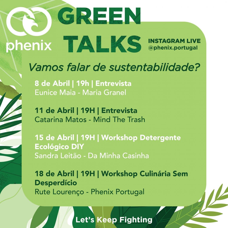 programa phenix green talks